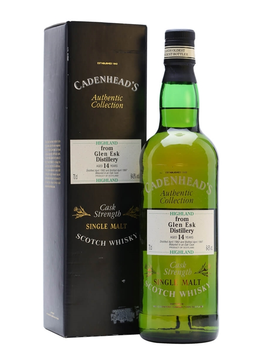 Glenesk 1982 / 14 Year Old / Cadenhead's Highland Whisky