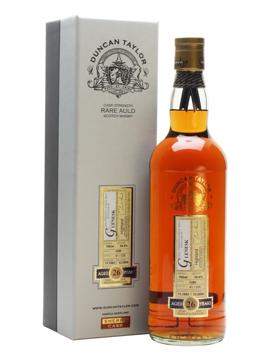 Glenesk 1983 / 26 Year Old / Sherry Cask / Duncan Taylor Highland Whisky