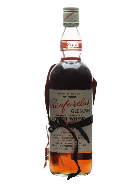 Glenfarclas 8 Year Old /  Bot.1960s Speyside Single Malt Scotch Whisky