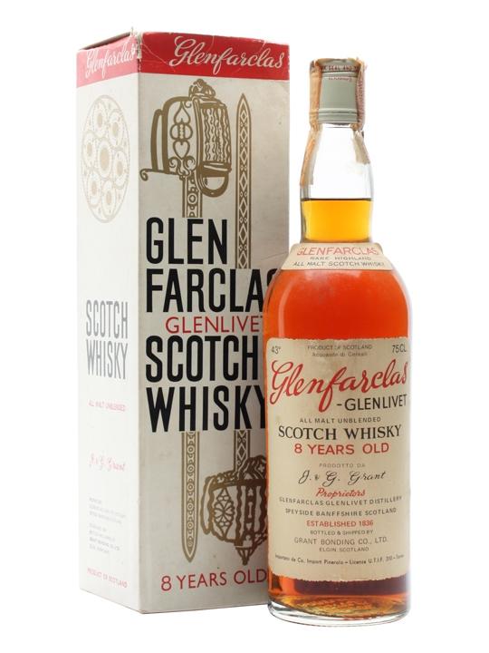Glenfarclas-glenlivet 8 Year Old / Bot.1980's Speyside Whisky