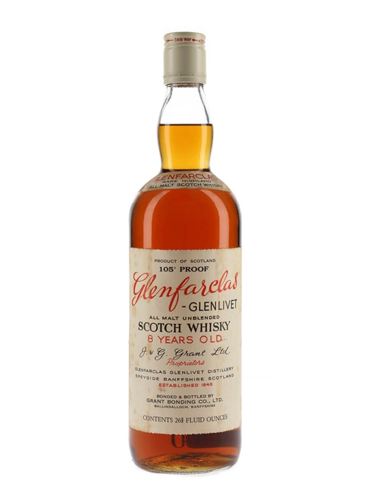 Glenfarclas 8 Year Old / Bot.1970s Speyside Single Malt Scotch Whisky
