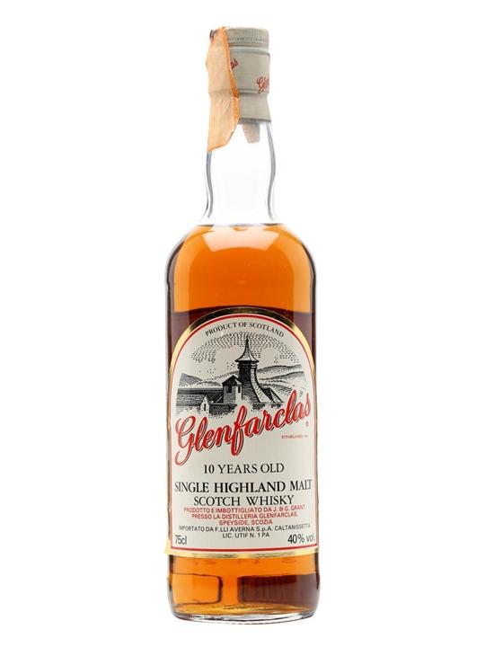 Glenfarclas 10 Year Old / Sherry Cask / Bot.1980s Speyside Whisky