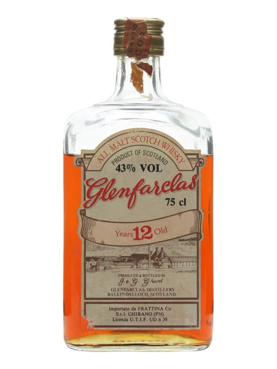 Glenfarclas 12 Year Old / Bot.1970s Speyside Single Malt Scotch Whisky