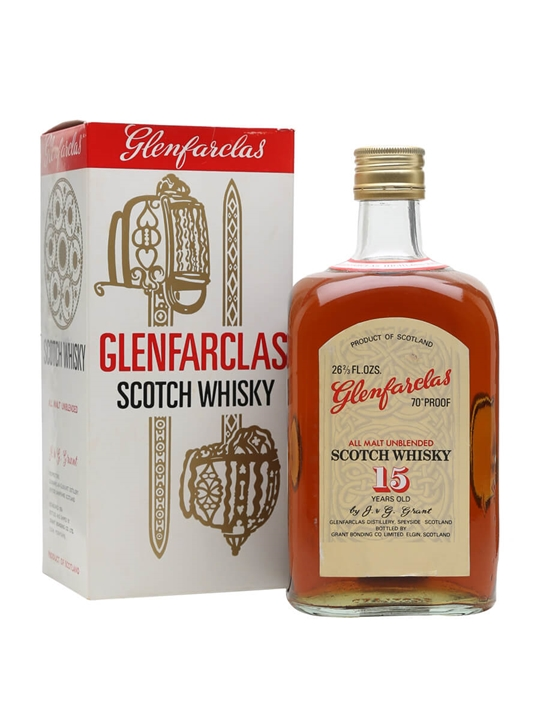 Glenfarclas 15 Year Old  Bot.1970s Speyside Single Malt Scotch Whisky