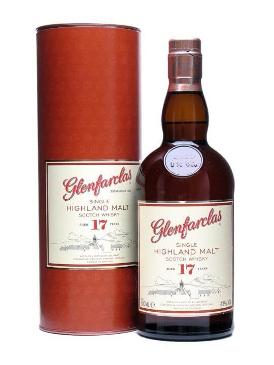 Glenfarclas 17 Year Old Speyside Single Malt Scotch Whisky