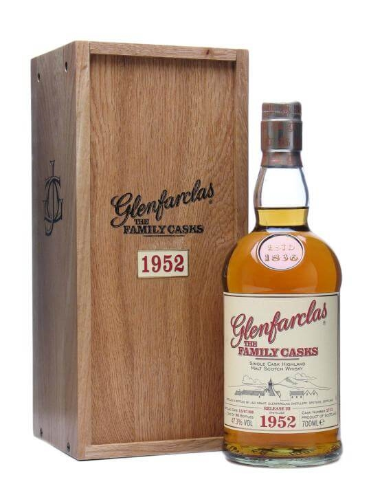 Glenfarclas 1952 / The Family Casks Speyside Single Malt Scotch Whisky