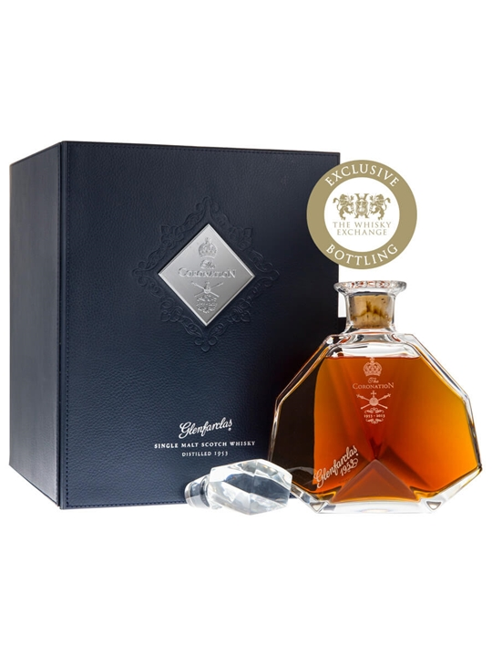 Glenfarclas 1953 / Queen's Coronation Decanter Speyside Whisky