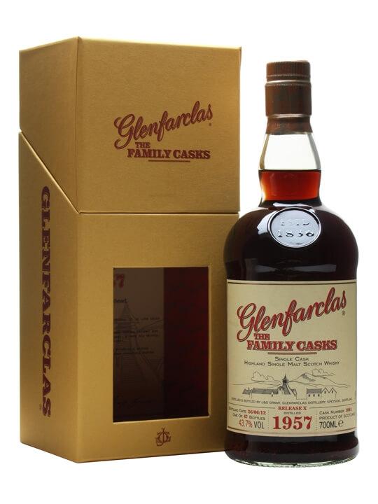 Glenfarclas 1957 / Family Casks X / Sherry Hogshead #1081 Speyside Whisky