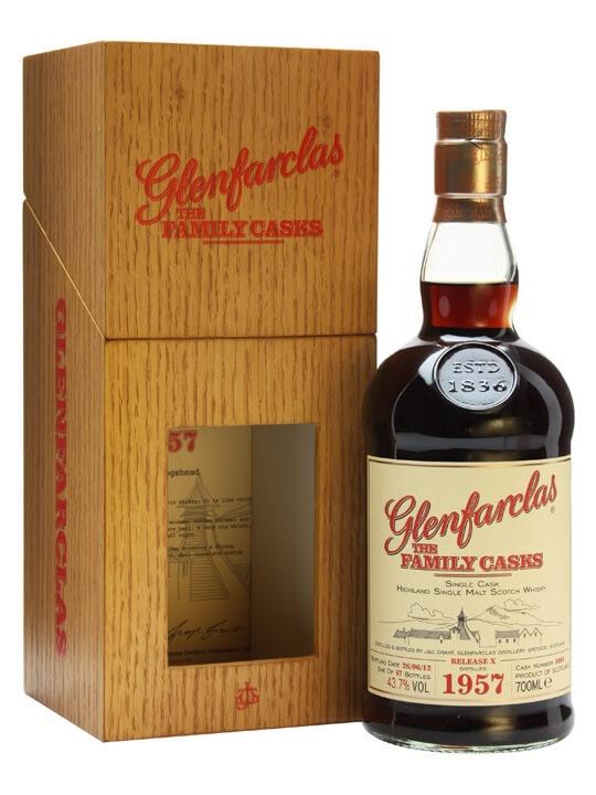 Glenfarclas 1957 / Family Casks X / Sherry Cask / Wooden Box Speyside Whisky