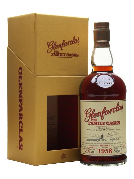 Glenfarclas 1958 / Family Casks X / Sherry Hogshead #2062 Speyside Whisky