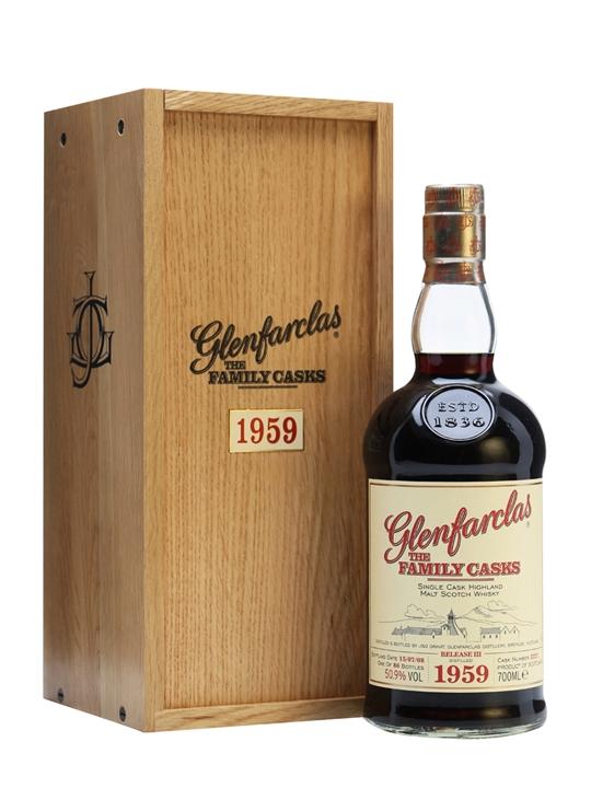 Glenfarclas 1959 / Sherry Cask / Family Casks Iii Speyside Whisky