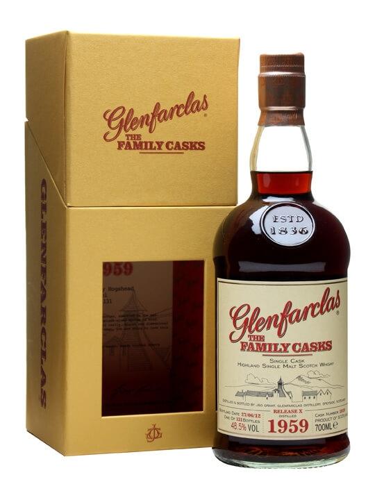 Glenfarclas 1959 / Family Casks X / Sherry Hogshead #1819 Speyside Whisky