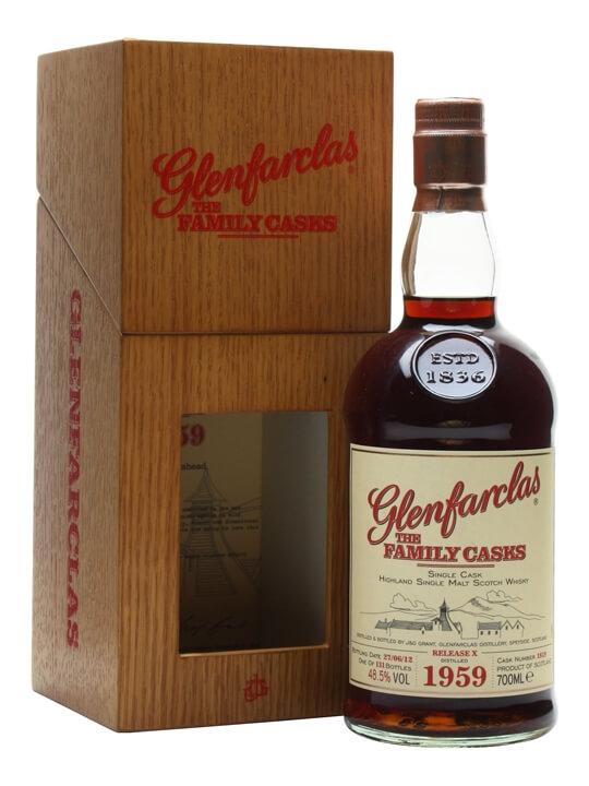 Glenfarclas 1959/ Family Casks X / Sherry Cask #1819 Speyside Whisky