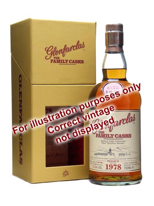 Glenfarclas 1960 / Bot.2010 / Family Casks Vi Speyside Whisky
