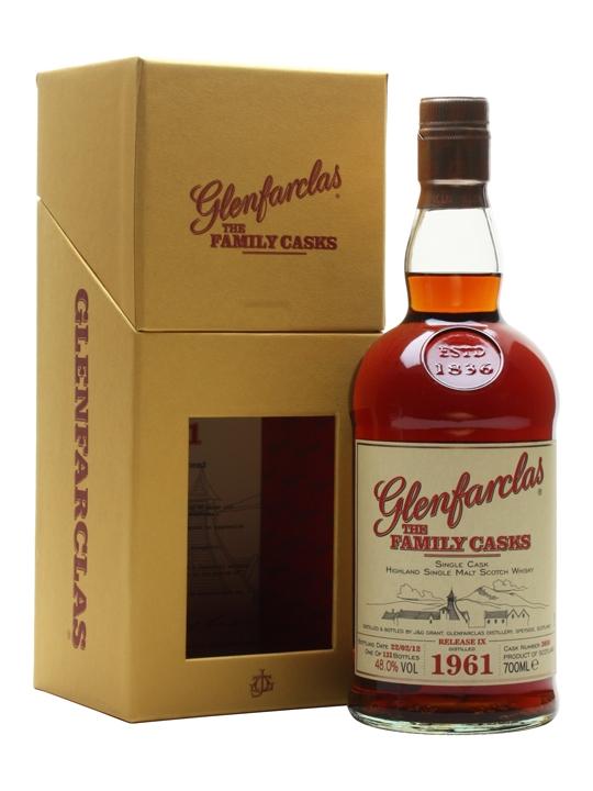 Glenfarclas 1961 / Family Casks Ix / Sherry Hogshead Speyside Whisky