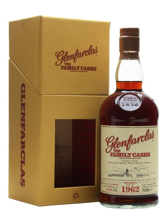 Glenfarclas 1962 / Family Casks X / Sherry Hogshead #3247 Speyside Whisky
