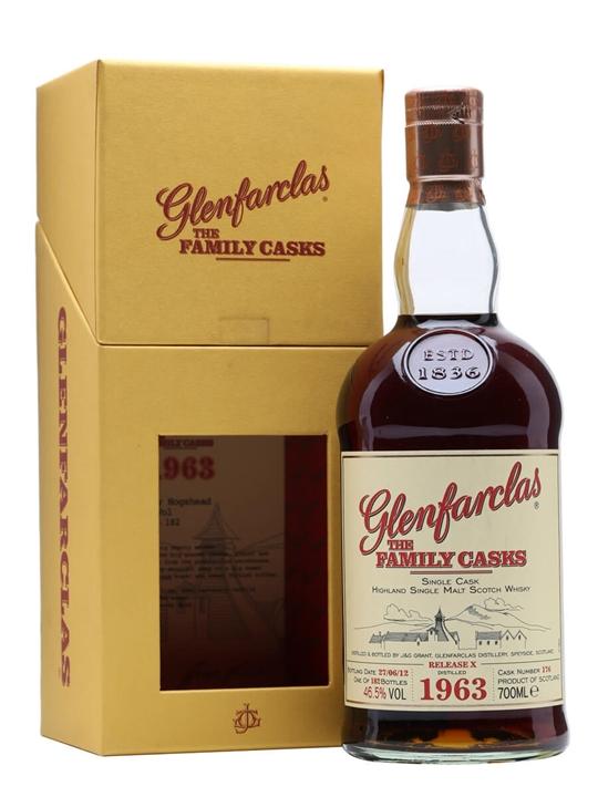 Glenfarclas 1963 / The Family Casks X / Sherry Hogshead #176 Speyside Whisky