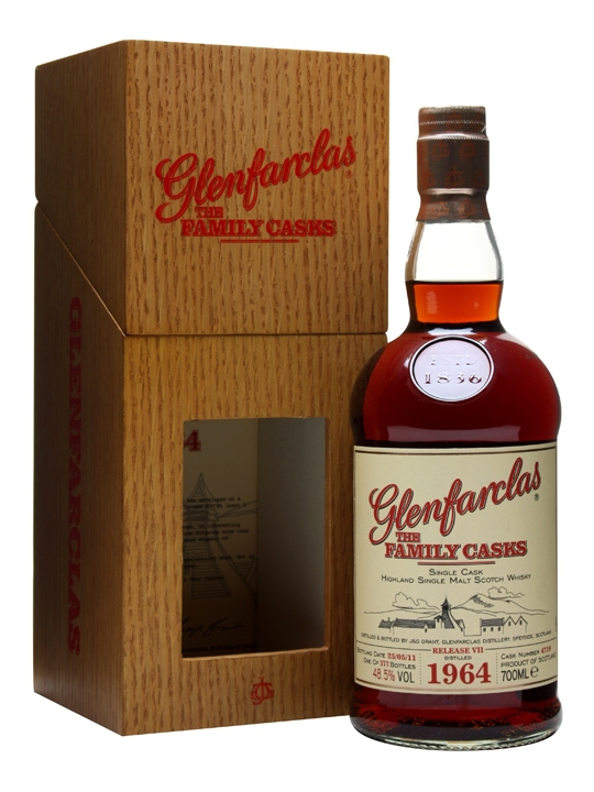 Glenfarclas 1964 / Family Cask Vii / Sherry Butt #4719 Speyside Whisky