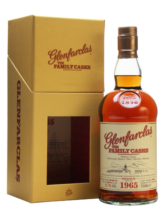 Glenfarclas 1965 / Family Casks Ix / Sherry Butt #4502 Speyside Whisky