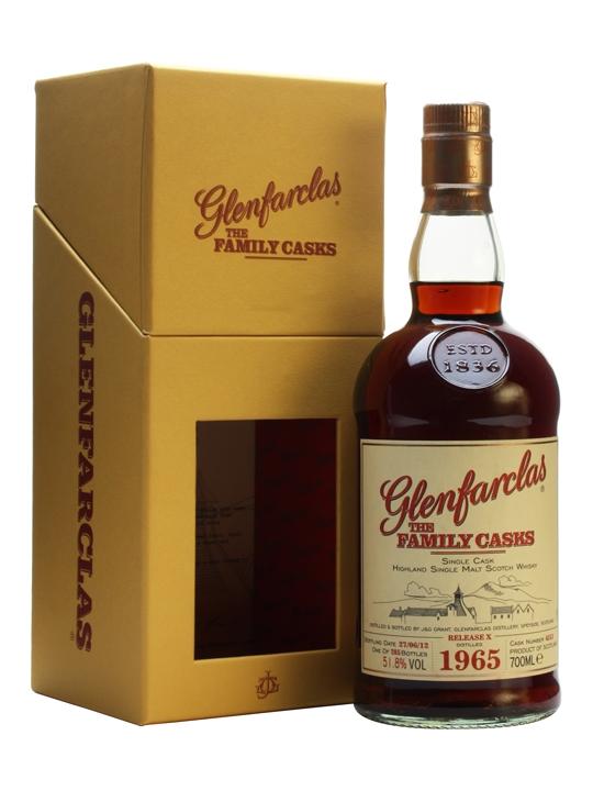 Glenfarclas 1965 / The Family Casks X / Sherry Butt #4513 Speyside Whisky