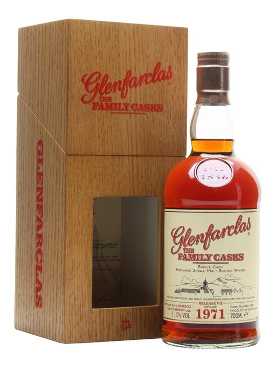 Glenfarclas 1971 / Family Casks Vii / Sherry Butt 150 Speyside Whisky