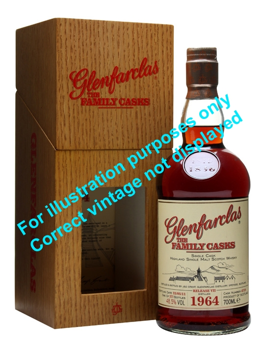 Glenfarclas 1972 / Family Casks Viii / Sherry Butt #3547 Speyside Whisky