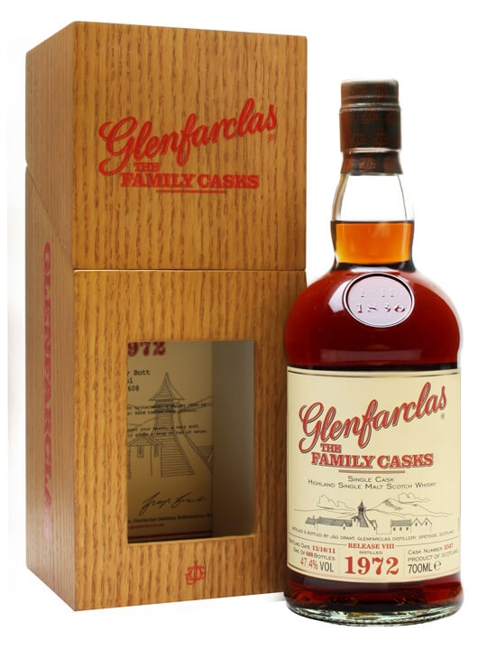 Glenfarclas 1972 / Family Casks Viii / Sherry Butt 3547 Speyside Whisky