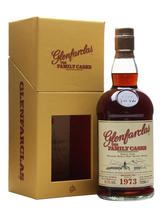 Glenfarclas 1973 / Family Casks Viii / Sherry Hogshead #2598 Speyside Whisky
