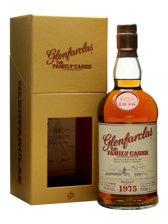 Glenfarclas 1975 / The Family Casks Iv Speyside Whisky