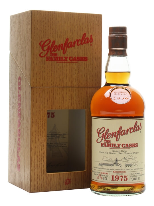 Glenfarclas 1975 / Family Casks Ix / Sherry Butt 1 Speyside Whisky