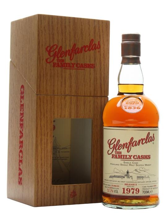 Glenfarclas 1979 / Family Cask X / Cask #8791 Speyside Whisky