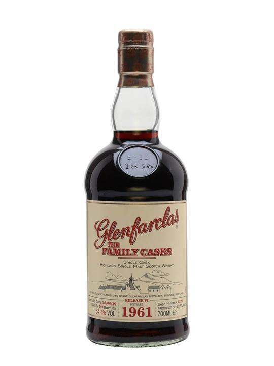Glenfarclas 1981 / Family Cask Vii / Plain Hogshead #57 Speyside Whisky