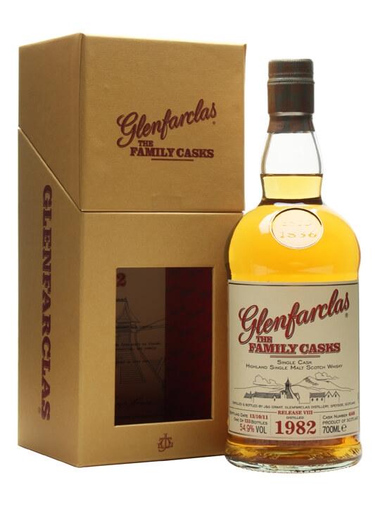 Glenfarclas 1982 / Family Casks Viii / Sherry Hogshead #4568 Speyside Whisky