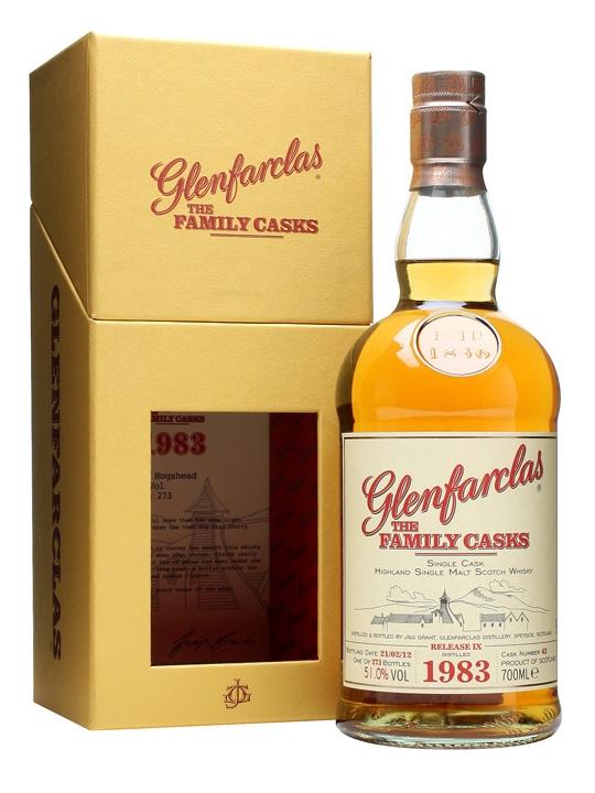 Glenfarclas 1983 / Family Casks Ix / Refill Hogshead #43 Speyside Whisky