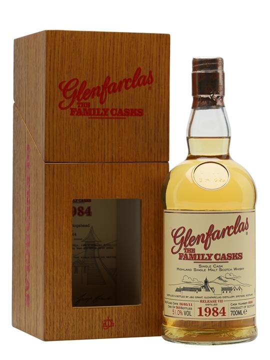 Glenfarclas 1984 / Family Casks Vii / Cask #6030 Speyside Whisky