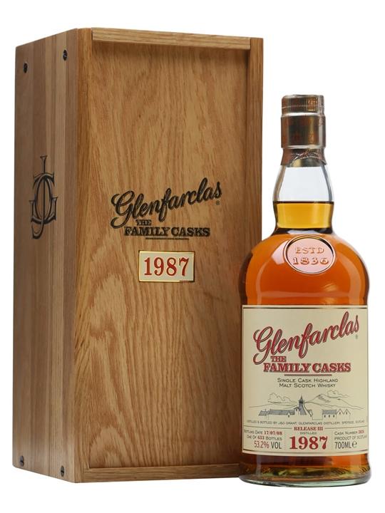 Glenfarclas 1987 / Family Casks Iii / Sherry Cask 3826 Speyside Whisky