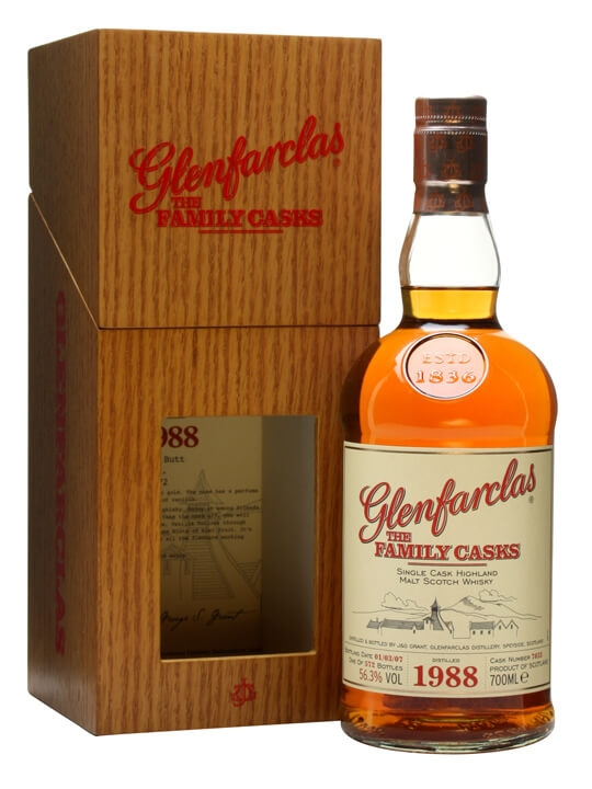 Glenfarclas 1988 / Family Casks I / Sherry Butt 7033 Speyside Whisky
