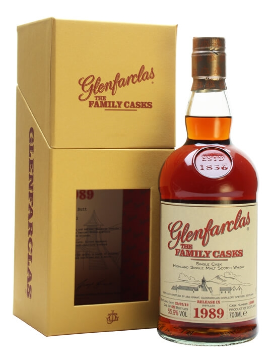 Glenfarclas 1989 / Family Casks Ix / Sherry Butt #12989 Speyside Whisky