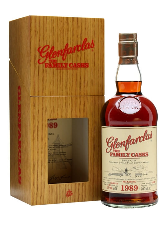 Glenfarclas 1989 / Family Casks Ix / Sherry Butt 12989 Speyside Whisky