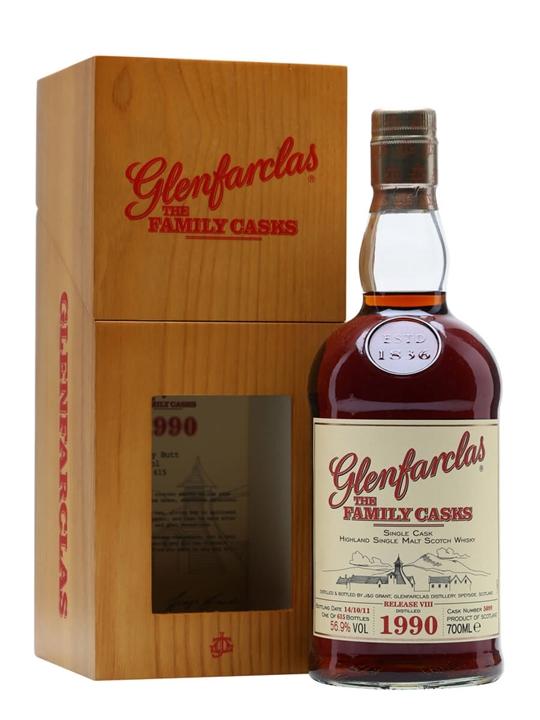 Glenfarclas 1990 / Family Casks Viii / Sherry Cask 5099 Speyside Whisky