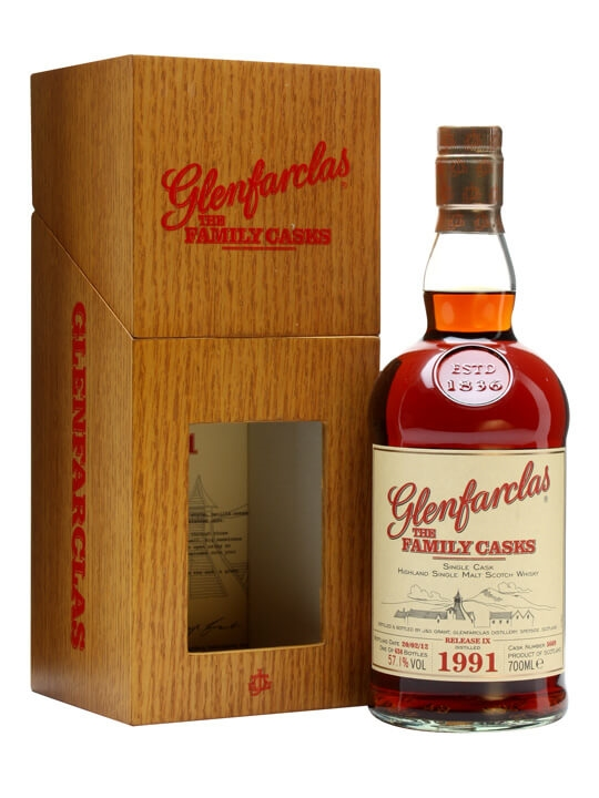 Glenfarclas 1991 / Family Casks Ix / Sherry Butt 5669 Speyside Whisky