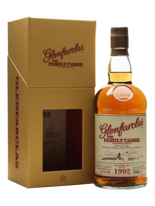 Glenfarclas 1992 / Family Casks Viii / Sherry Hogshead #861 Speyside Whisky