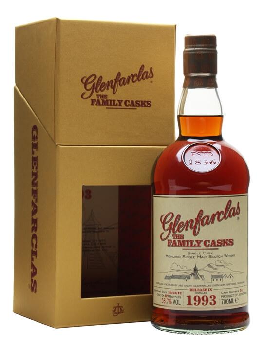 Glenfarclas 1993 / Family Casks Ix / Sherry Butt #74 Speyside Whisky