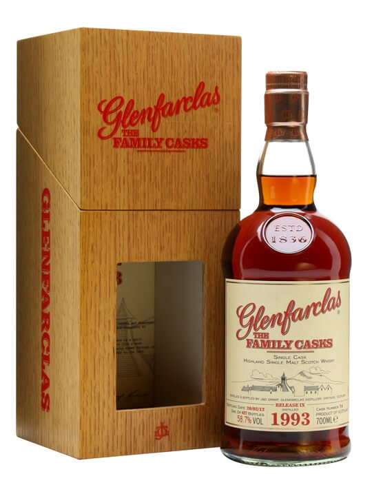 Glenfarclas 1993 / Family Casks Ix / Sherry Butt 74 Speyside Whisky