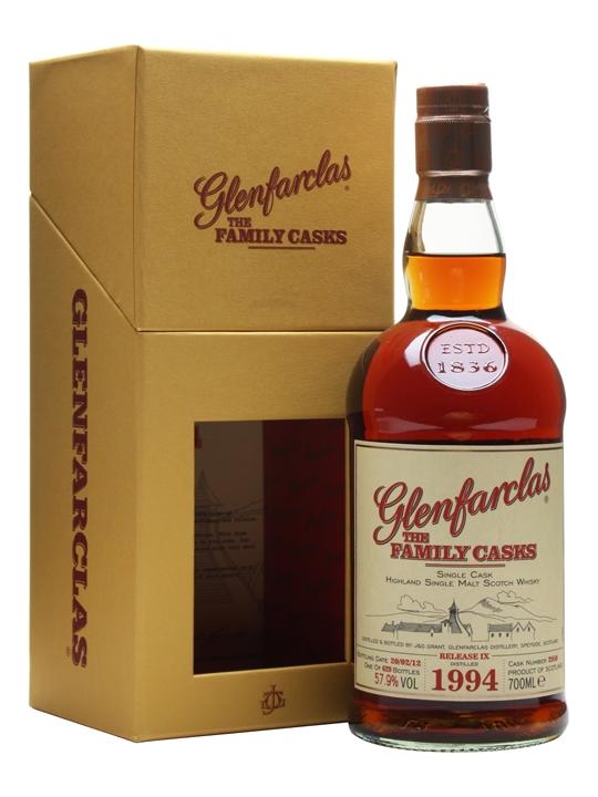 Glenfarclas 1994 / Family Cask #2950 / Release Ix Speyside Whisky