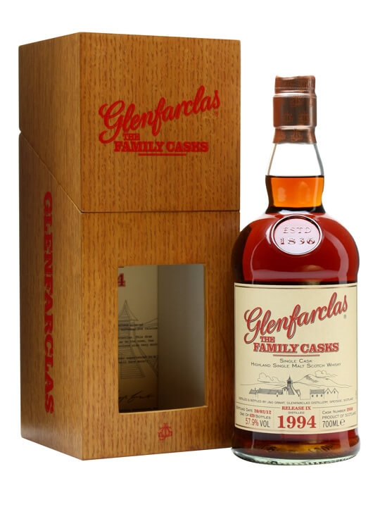 Glenfarclas 1994 / Family Casks Ix / Sherry Butt 2950 Speyside Whisky