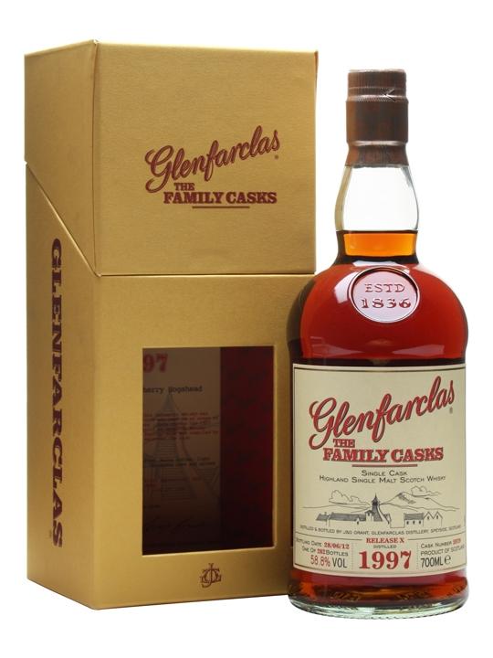 Glenfarclas 1997 / Family Casks X / Sherry Hogshead #5979 Speyside Whisky