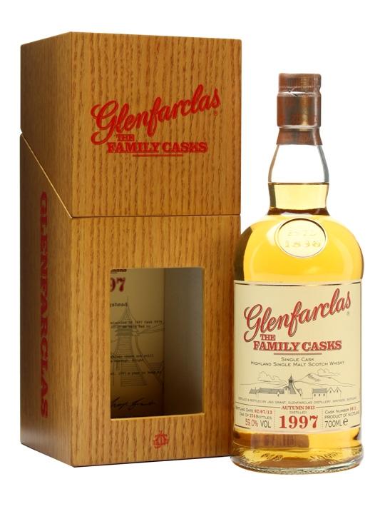 Glenfarclas 1997 / Family Casks A13 / Sherry Cask 9811 Speyside Whisky