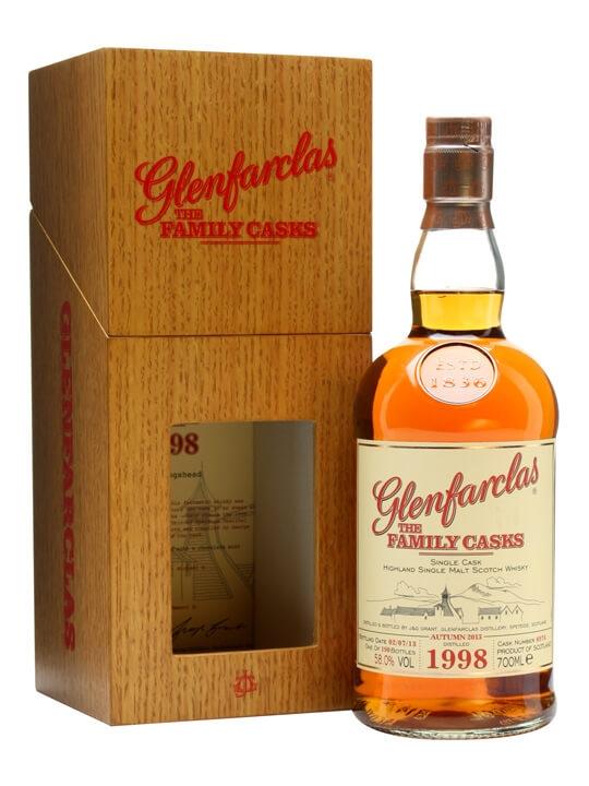 Glenfarclas 1998 / Family Casks A13 / Sherry Cask 8976 Speyside Whisky