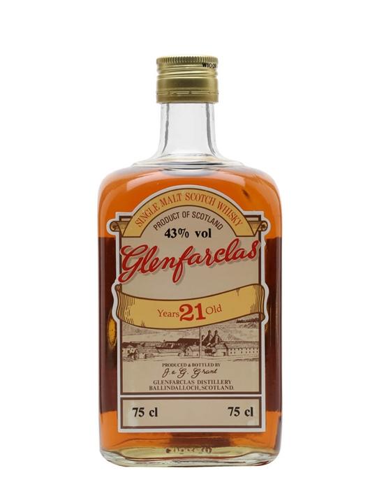 Glenfarclas 21 Year Old / Bot.1980s Speyside Single Malt Scotch Whisky